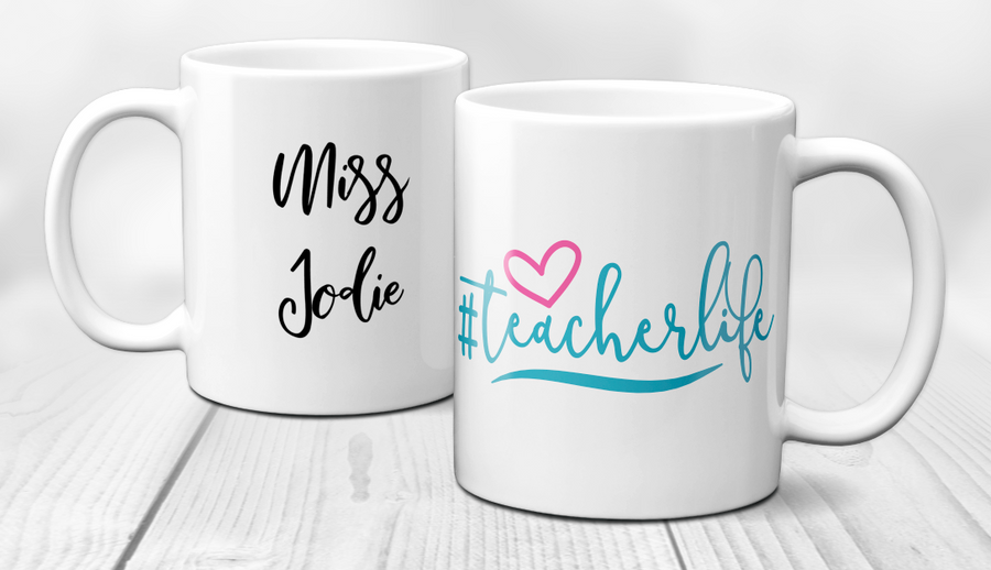 Teacher appreciation #teacherlife mug