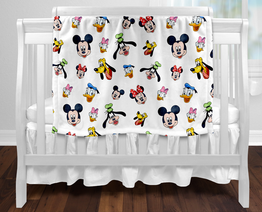 Mickey Minnie Inspired Blanket - In stock special