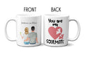 11oz Mug Valentine's Day Couple Partner Unique Personalised Gift Husband Wife Boyfriend Girlfriend