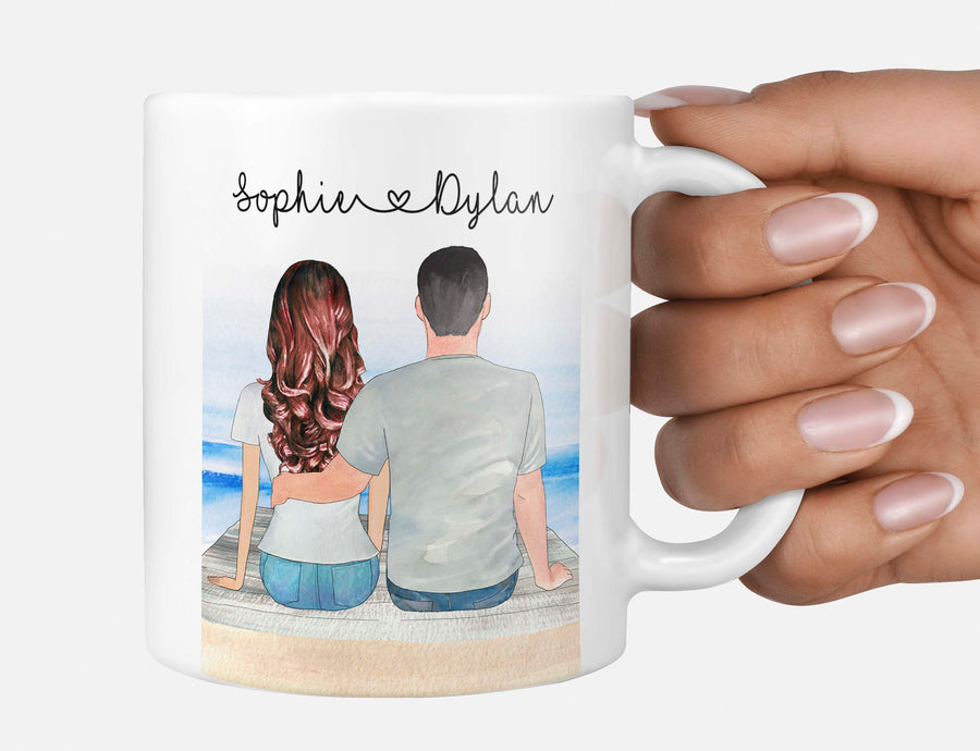 Valentine's Day Couple Partner Unique Personalised Gift Husband Wife Boyfriend Girlfriend