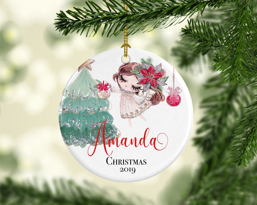 Personalised Ceramic Christmas Ornament Ornament