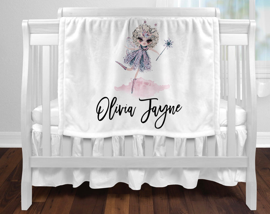 Personalised baby blanket - Fairy
