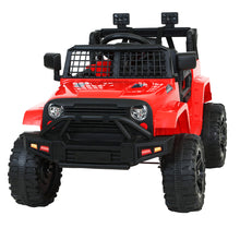 Load image into Gallery viewer, Rigo Kids Ride On Car Electric 12V Car Toys Jeep Battery Remote Control Red
