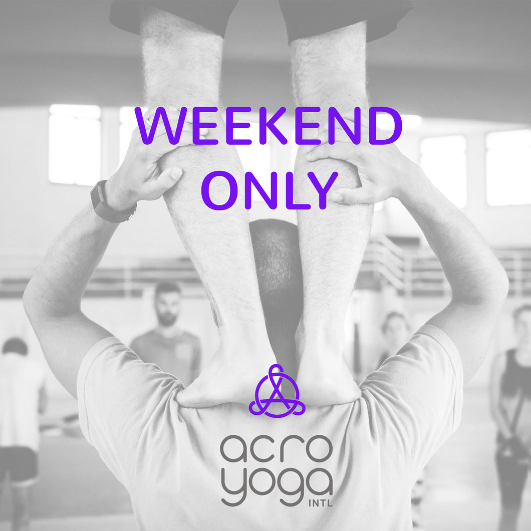 first weekend only - AcroYoga Solar Immersion Landau