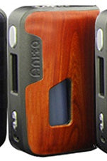 Arctic Dolphin Anita 100W Squonk mod - Grey frame, Red wood