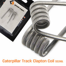 Load image into Gallery viewer, GeekVape Caterpillar Track SS316L Coils - 0.30 ohm