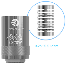 Load image into Gallery viewer, Joyetech Cubis/Cuboid/AIO coils - 5 pack