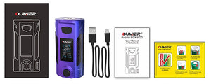 Oumeir Rudder 200W TC box mod - Black