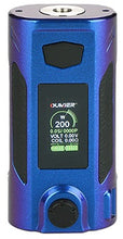 Load image into Gallery viewer, Oumeir Rudder 200W TC box mod - Blue/Purple shades