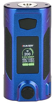 Oumeir Rudder 200W TC box mod - Blue/Purple shades
