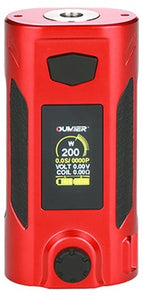 Oumeir Rudder 200W TC box mod - Red