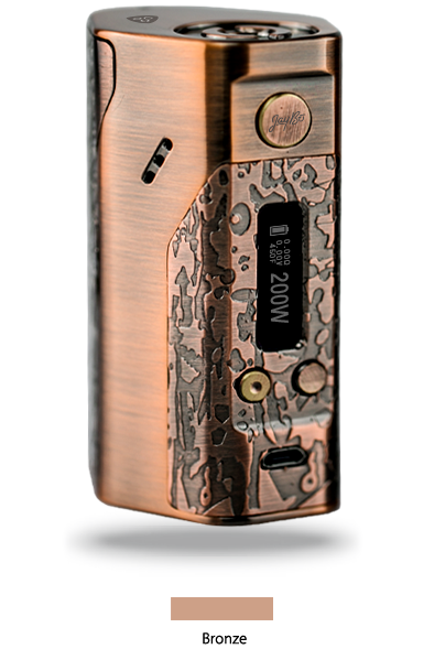 Wismec Reuleaux DNA200 - Bronze - includes batteries
