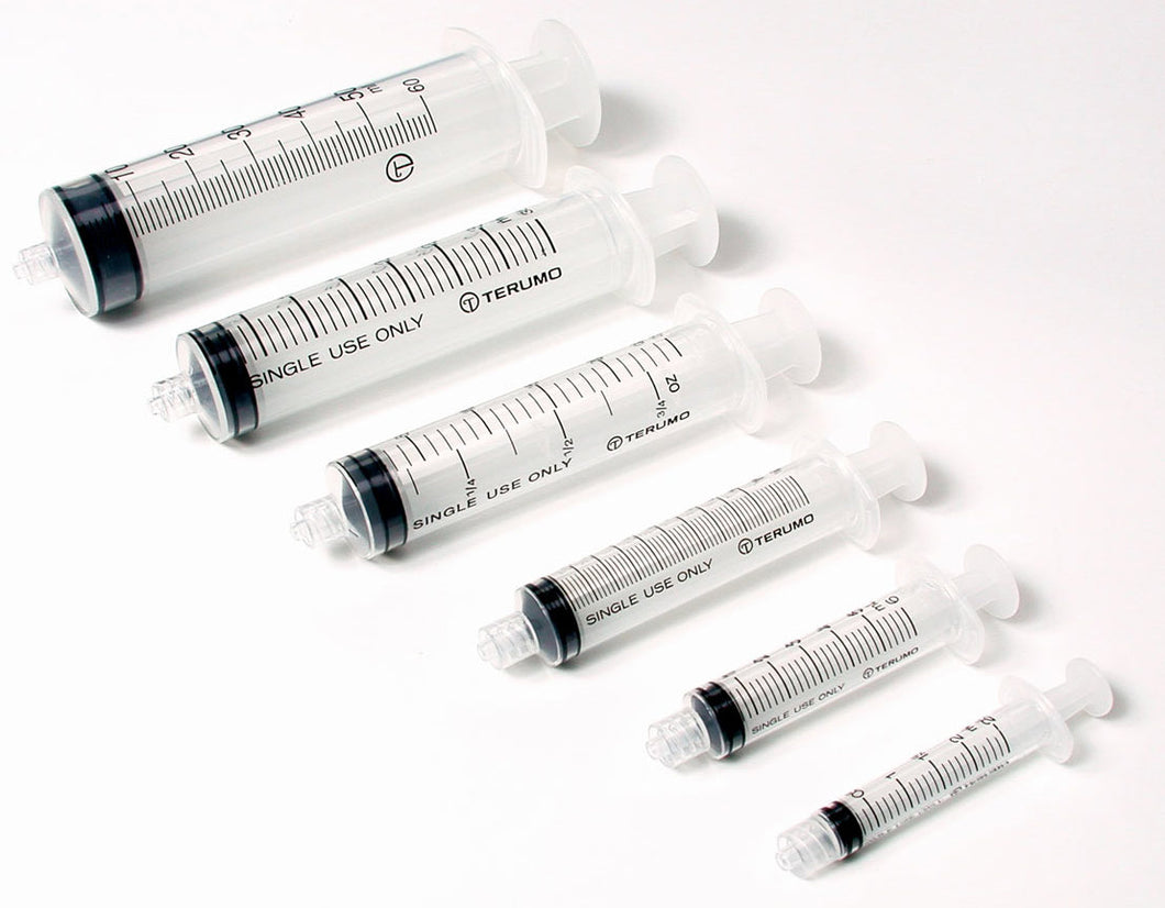 Syringe - various sizes