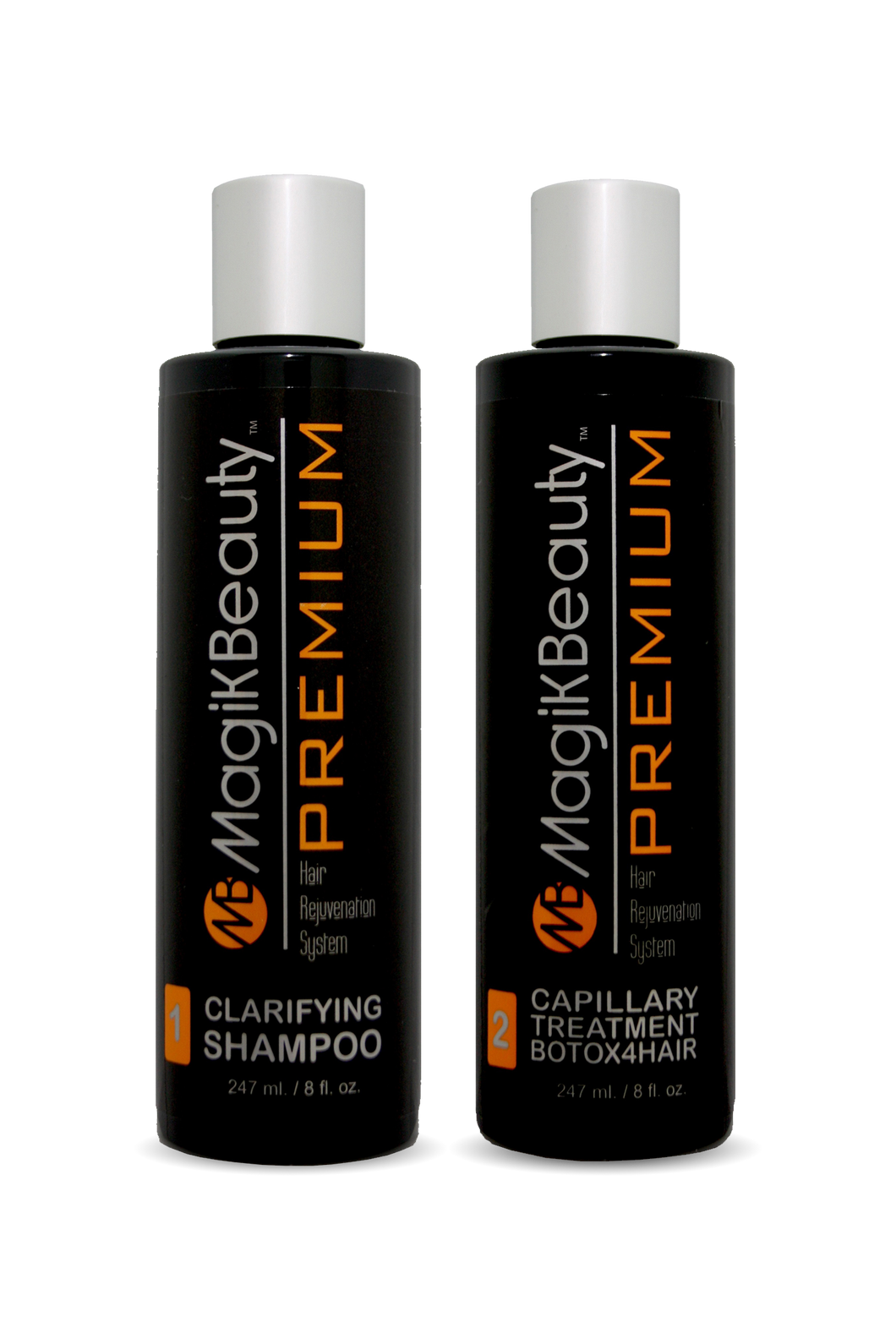 MB Premium - Duo Clarifying Shampoo + BTX4HAIR Capillary treatment