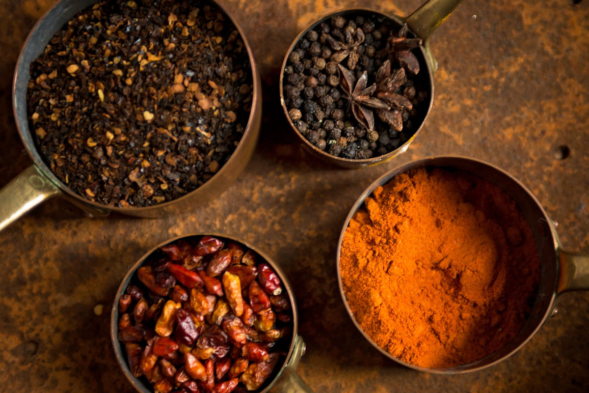 Dried spices, Bite Me Spices Header, Chillies, Blends, Made to order spice blends