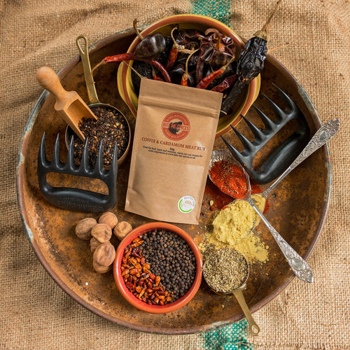 Coffee & Cardamom Meat Rub (60g)