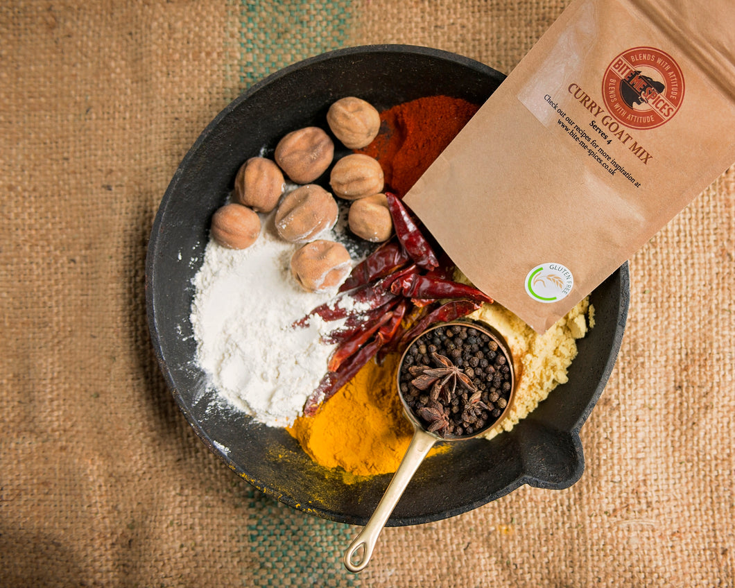 Jamaican Curry Goat Mix - Serves 4