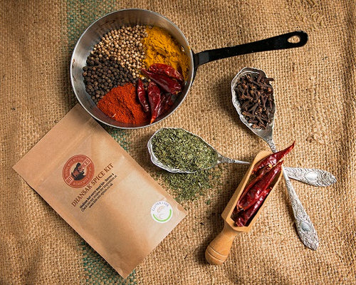 Dhansak Spice Kit- Serves 4