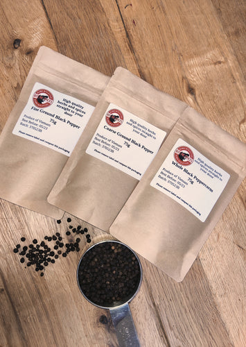 Black Peppercorns 75g