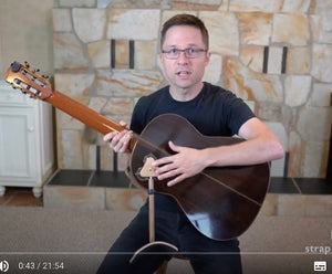 Review of Mundo Guitar Support & Strap by Bradford Werner of 'This Is Classical Guitar.'