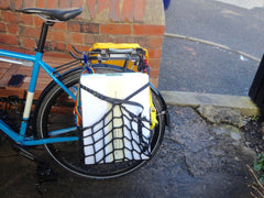 How to carry boxes on a bike large or small. Airpannier
