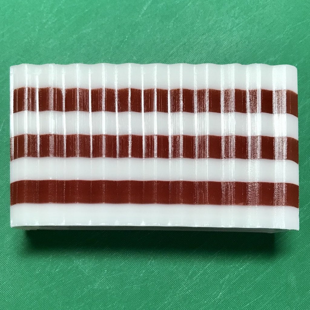 Candy Cane Soap Slice-Clearance