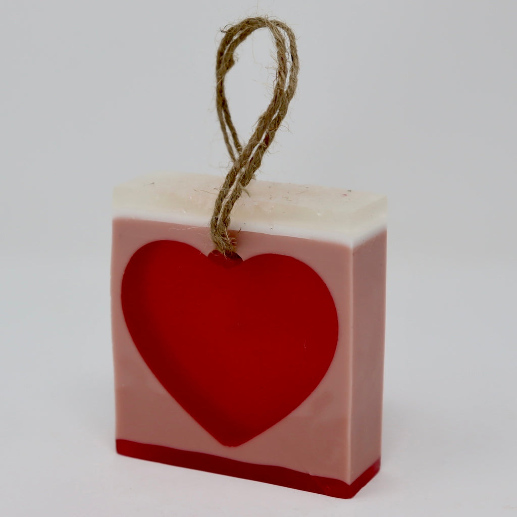 Heart Soap-On-A-Rope Clearance