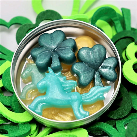 St. Paddy's Mini Good Luck Soaps