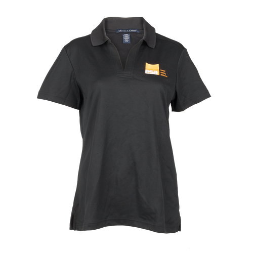 Ladies Black Polo Shirt