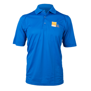 Men's Blue Logo Polo Shirt