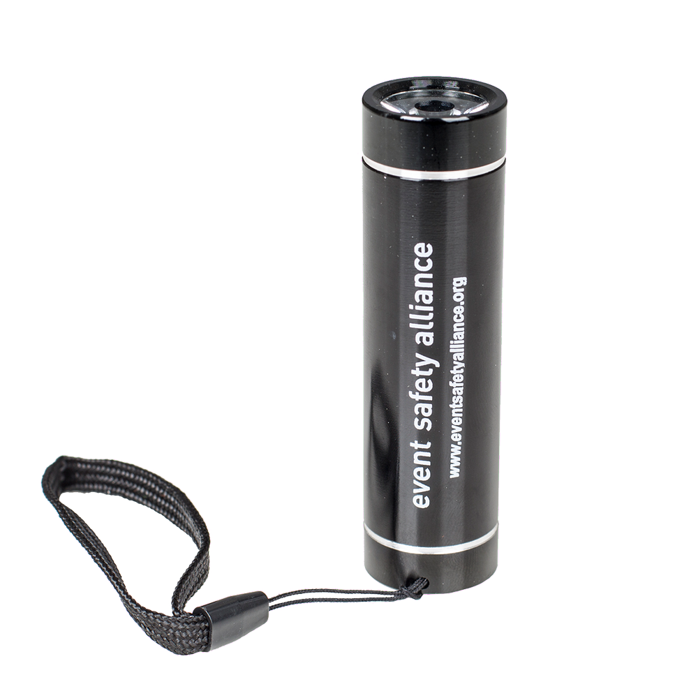 Black Mini Flashlight