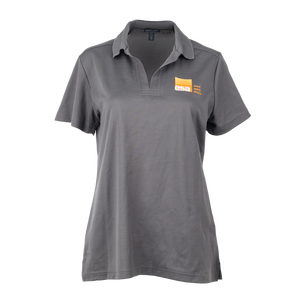 Ladies Grey Polo Shirt