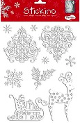 ✿ Raamsticker Stickino Kerst ✿