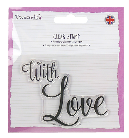 "✿ Silikon Stempel ""With Love"" ✿"