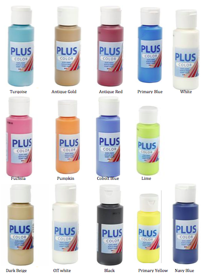 ✿ Plus Color Acrylverf 60ml Div. Kleuren ✿