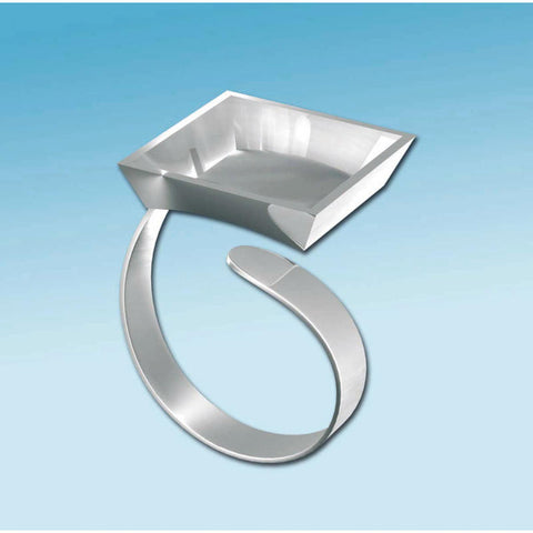 ✿ Metalen Ring Vierkant ✿