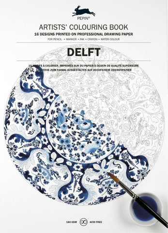 Artists' Colouring Book - Delft