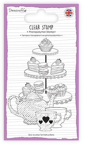 ✿ Silikon Stempel High Tea ✿