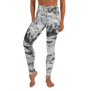 Diamond Crystal Mist Yoga Leggings