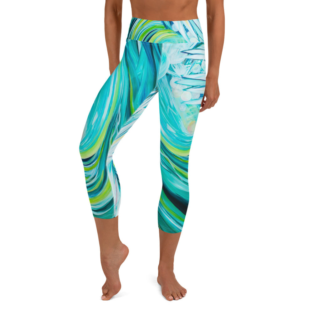 Wipeout! - Yoga Capri Leggings