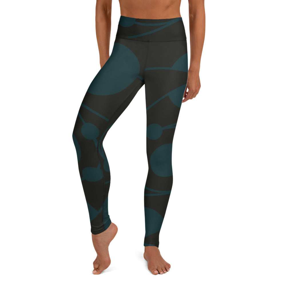 Circle Collection 5 Earth 060109 Yoga Leggings