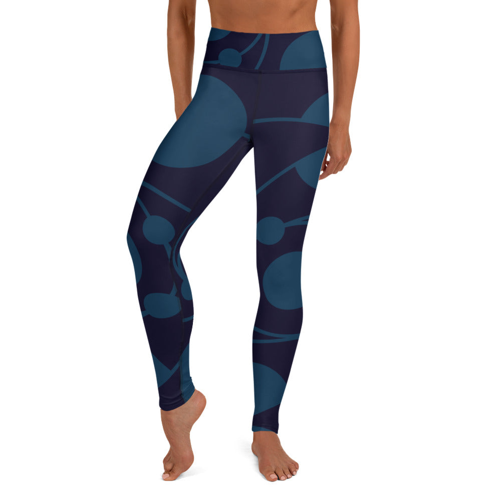 Circle Collection Water 060109 Yoga Leggings