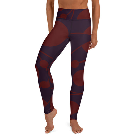 Circle Collection Fire 060109 Yoga Leggings