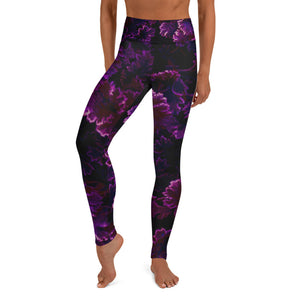 Burgundy Frost - Yoga Leggings