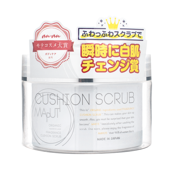 MAPUTI Organic Fragrance Cushion Scrub 奶油美白身体磨砂膏