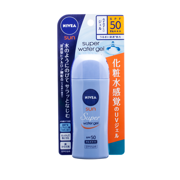 NIVEA Sun Super Water Gel SPF50 PA+++ 日版 NIVEA妮维雅 清爽超水感防晒凝露 80g