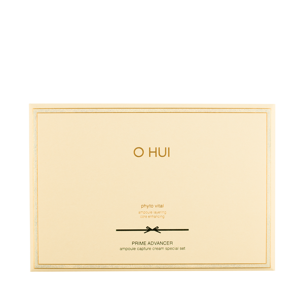 O Hui PRIME ADVANCER ampoule capture cream special set