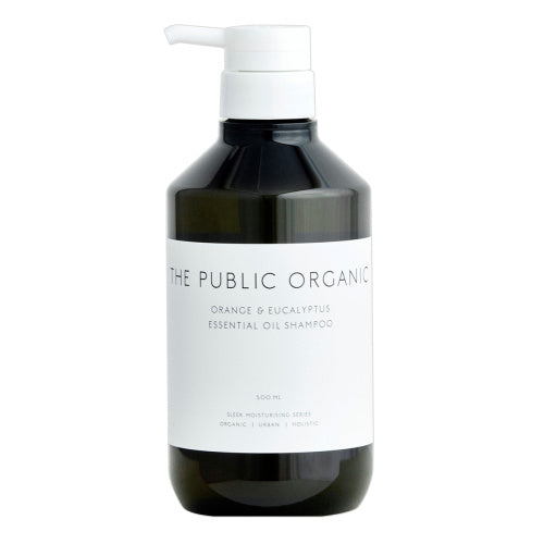THE PUBLIC ORGANIC Orange & Eucalyptus Essential Oil Shampoo & Treatment 500ml 无硅柑橘精油洗发水护发素