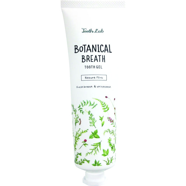 TEETH LAB Botanical Breath Tooth Gel - Nature Mint 100G