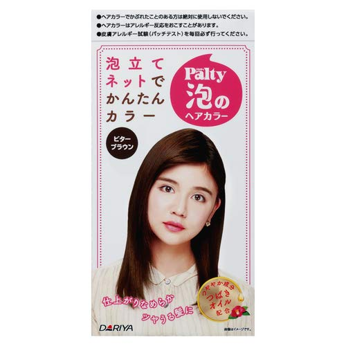 DARIYA Palty Foam Hair Color Kit #Bitter Brown